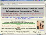Thai / Cambodia Border Refugee Camps - Information and Documentation Website  - information, maps, glossary, photos, articles and history